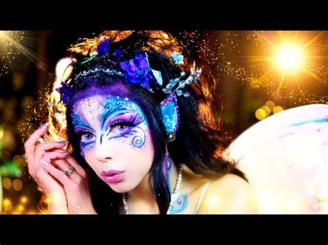 tutorial makeup pixy gothic fairy makeup look tutorial by delyria make up