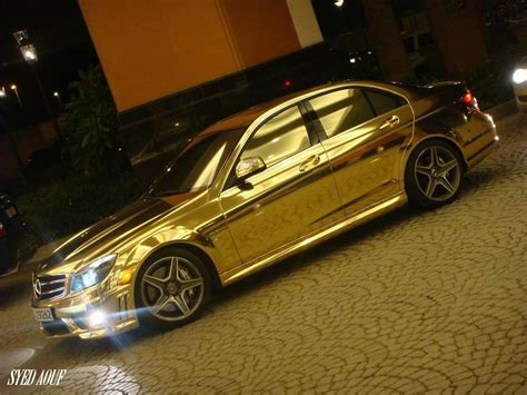 chrome benz chrome gold modifications quot mercedes benz quot c63 amg