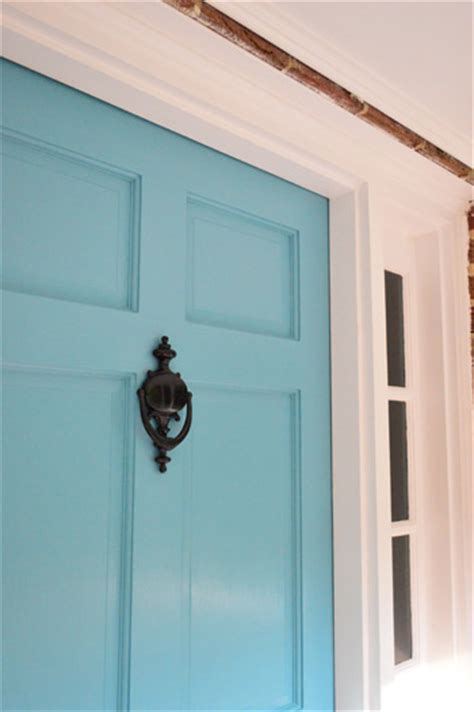 painting the front door painting the back of your front door a bold color