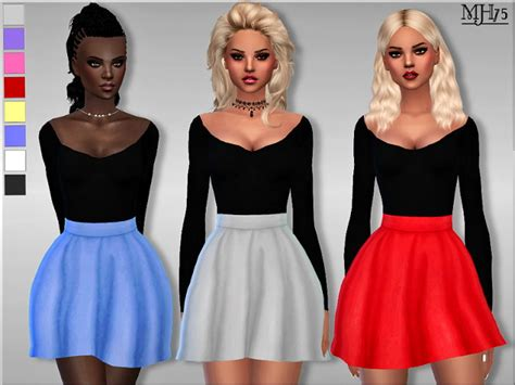 sims 4 clothing for females sims 4 updates addison dress by margeh75 at sims addictions 187 sims 4 updates