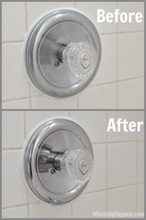 how to clean bathroom faucets the cheap easy way to get your faucet shiny again
