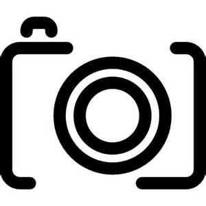 photo camera lines variant icons free download
