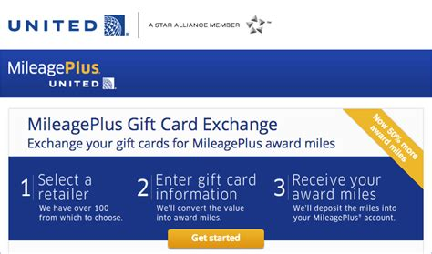 Exchange Aa Miles For Gift Cards - exchange your gift cards for miles with united is back chasing the points