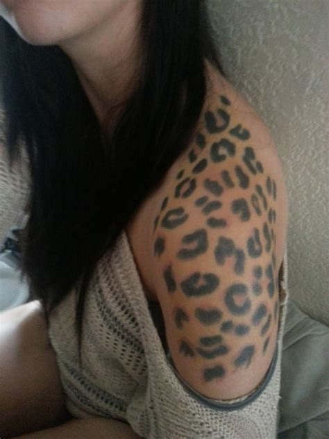 30 cheetah and leopard print tattoos for women art and