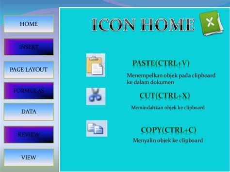 tilan layout presentasi pada menu view fungi menu dan ikon microsoft excel
