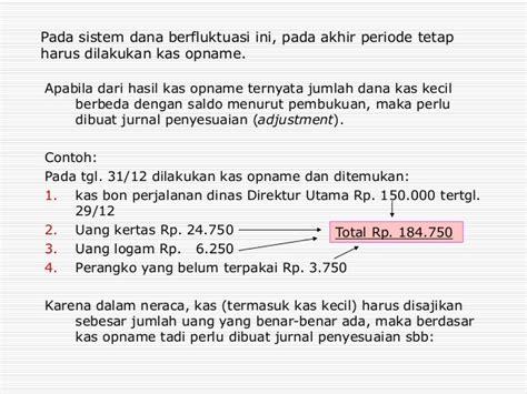 membuat jurnal penyesuaian kas bank contoh cara membuat jurnal penyesuaian contoh 0108