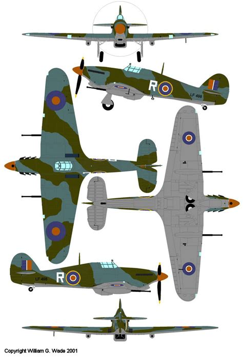 Painting Color Schemes Wings Palette Hawker Hurricane Sea Hurricane Great Britain