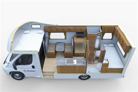 Camper Van Toaster 4 Berth Seeker Motorhome Cruisin Motorhomes