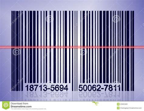 Laser Kode 49 T3010 8 scanning bar code stock photos image 20932483