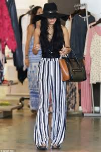 Pant By Airin Boutique hudgens wears backless top as she hits a boutique in la daily mail