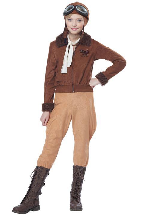 amelia earhart child costume purecostumescom