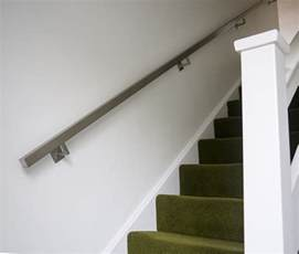chrome banister rail brushed stainless steel metal banister stair handrail pre