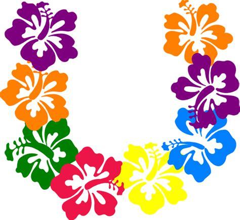 printable luau flowers luau flowers clipart clipart suggest
