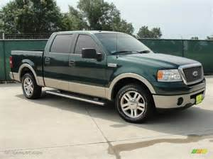 2007 forest green metallic ford f150 lariat supercrew