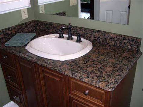 Bathroom Vanities With Granite Tops Baltic Brown Granite Vanity Tops 1673 Baltic Brown Acworth