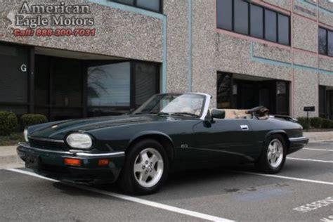 find used v12 jaguar xjs green convertible 79k miles clear
