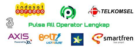 Pulsa Multi All Operator daftar harga pulsa murah all operator