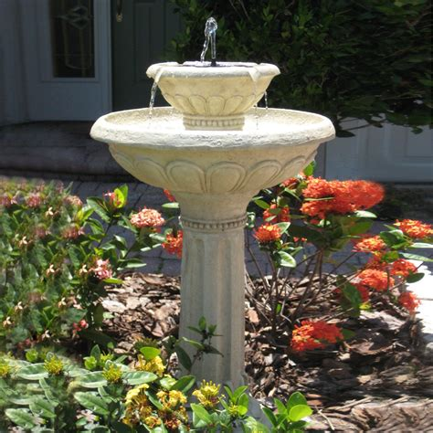 backyard fountains lowes garden treasures egg fountain yard and garden pinterest