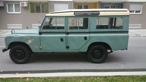 original land rover defender land rover defender 109 original 1978 god