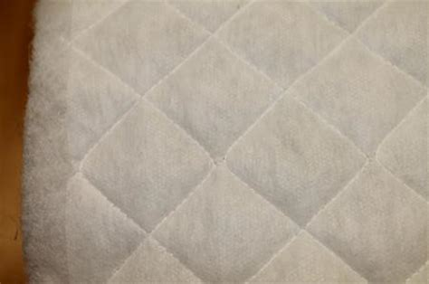 Quilted Polyester Fabric by 1 Yard Pre Quilted Single Side Polyester Fabric Batting