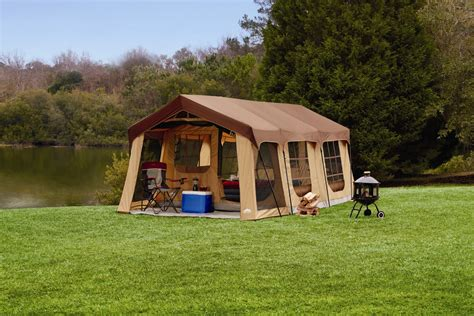Cabins In The Up by Northwest Territory Front Porch Cabin Tent 10 Person