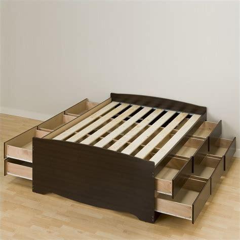 prepac storage bed prepac manhattan tall queen bookcase platform storage