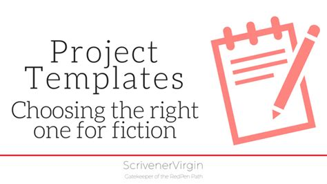 scrivener project templates project templates choosing the right one for fiction