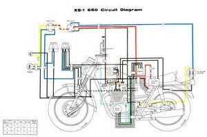 xs650 70 xs1 wiring diagram thexscafe