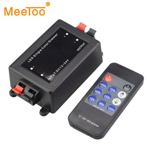 Wireless Led Lights With Remote by New 11key 12 24v Wireless Remote Led Light Single Color Rf