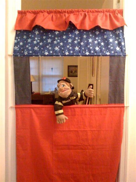 puppet show curtain 10 best diy doorway puppet theatre images on pinterest