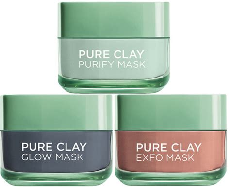 L Oreal Clay Mask l or 233 al clay mask trio eleven se