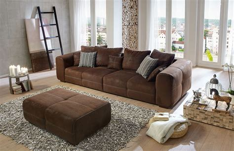 Sofas And More by Big Sofa Maverick In Braun Sit More M 246 Bel Letz