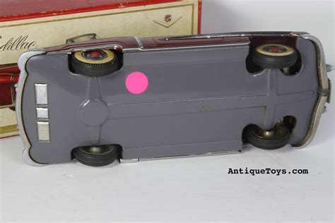 alps toys vintage japanese tin wind up battery op alps tin cadillac from japan antique toys for sale