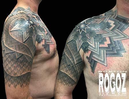Geometric Tattoo Artists In Boston | mandala and geometric pattern by boston rogoz tattoonow