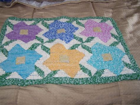 how to finish a rug hooking project another one of my locker hook completed projects