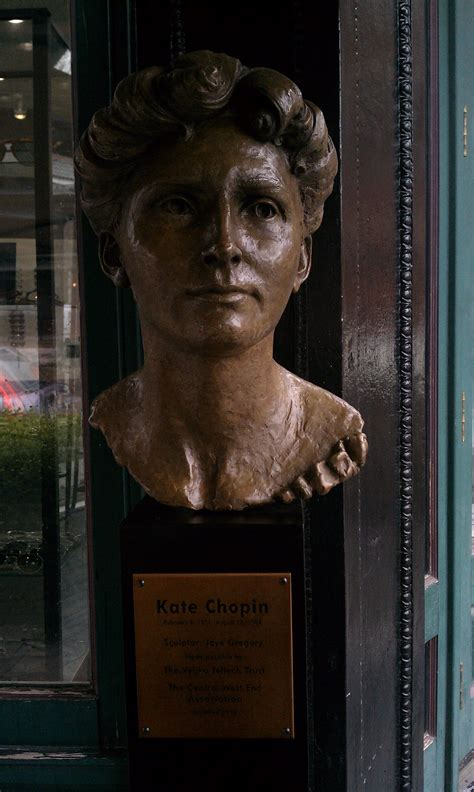 biography kate chopin bust kate biography