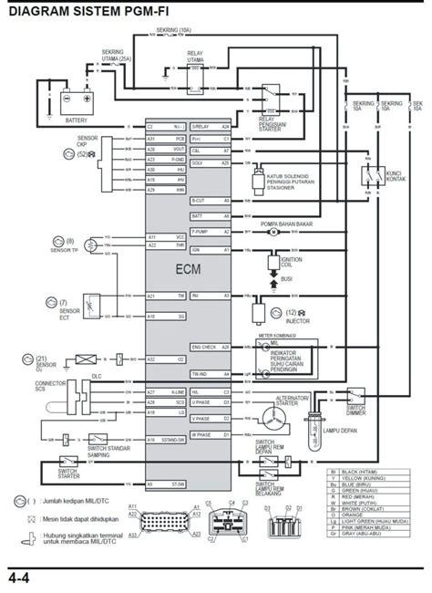 Saklar Lu Yamaha mio hid wiring diagram k grayengineeringeducation