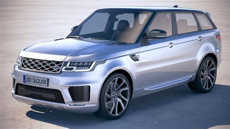 wheels land rover 2018 range rover sport phev 2018