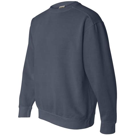 Comfort Colors Denim by Comfort Colors 1566 Garment Dyed Ringspun Crewneck
