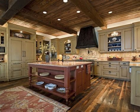 cabin kitchens ideas cabin ideas design pictures remodel decor and ideas