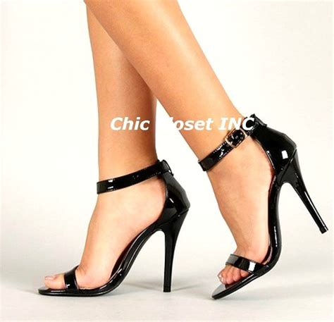 new high heel stilettos open toe ankle wedges