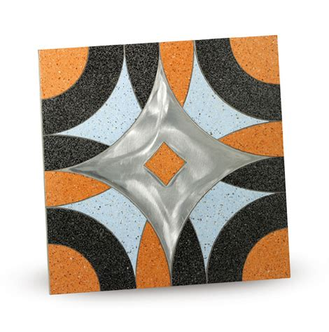 abstract tiles gravel tile  marble chips  fogazza