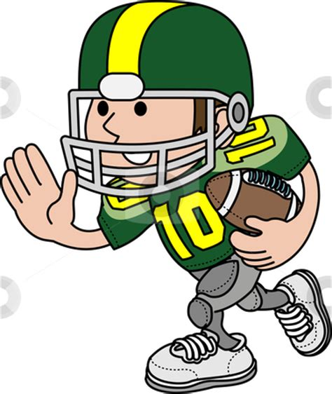 Clipart Of Football Players football player clipart outline clipart panda free