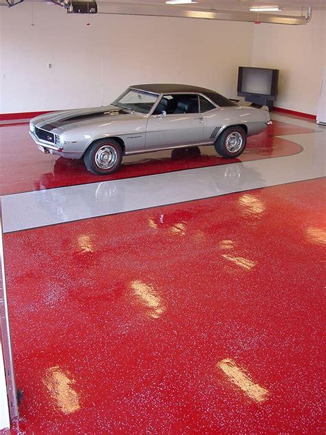 epoxy garage floor red epoxy garage floor epoxy floor gallery wasatch garage