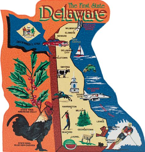 Search Delaware Jurisdiction State Map Delaware The Cat S Meow