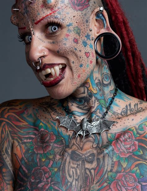extreme tattoo skin maria jose cristerna known as the vire woman because
