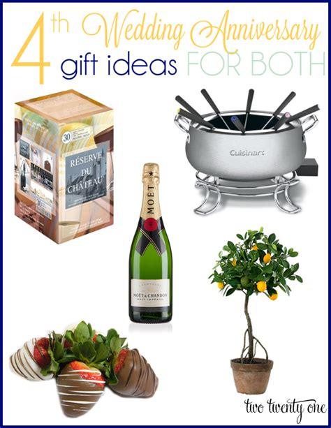 4th Wedding Anniversary Linen Ideas by 4th Anniversary Gift Ideas