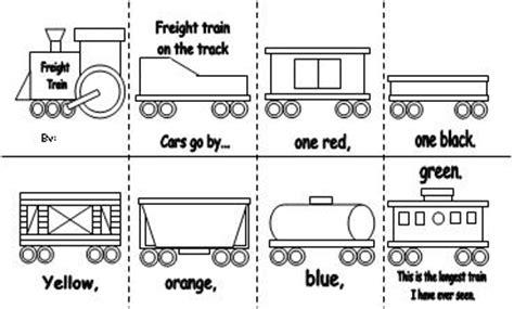 train color word emergent reader
