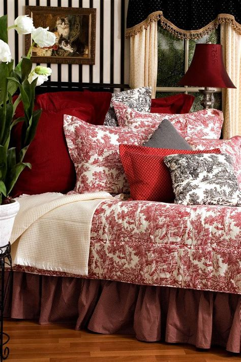 red toile bedding 17 best images about master bedroom ideas on pinterest