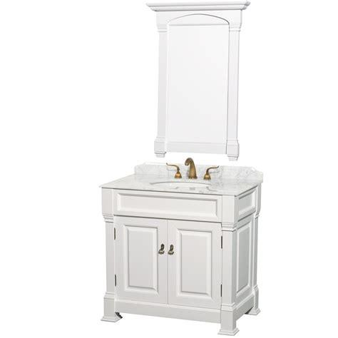 33 Inch Bathroom Vanity Top Andover 36 Inch Traditional Bathroom Vanity Set White